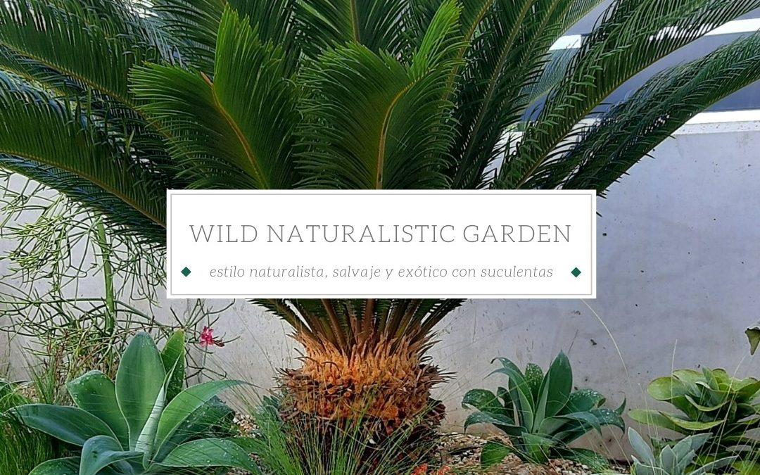 Wild Naturalistic Garden in Mallorca