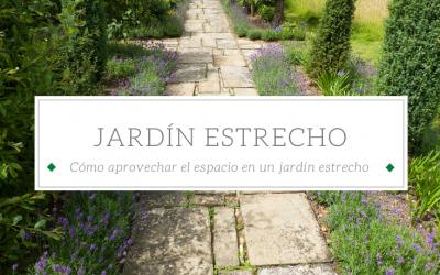 Cómo diseñar un jardín estrecho o alargado y distribuir bien el espacio